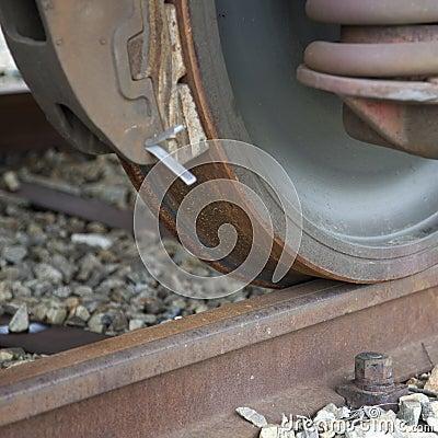 Free Train Wheel Stock Photography - 18251262