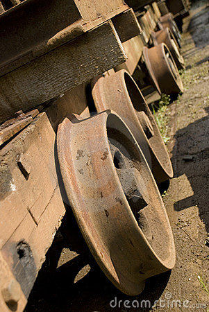 Free Train Wheels Royalty Free Stock Images - 5687479