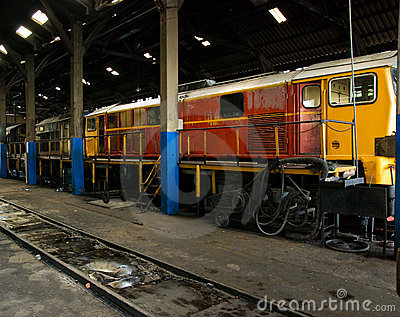 Train workshop
