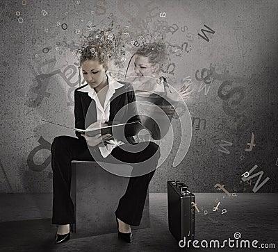 Trainee woman