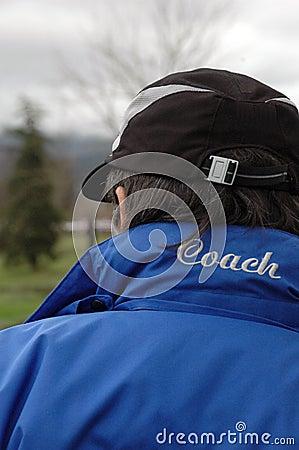 Trainer im Dienst
