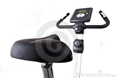 Training bicycle