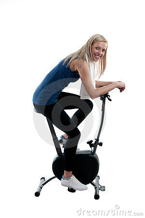 Training on the bike