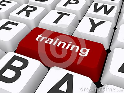 Training button