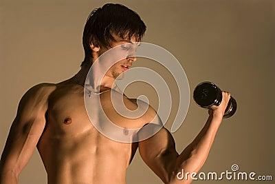 Training des Bodybuilders