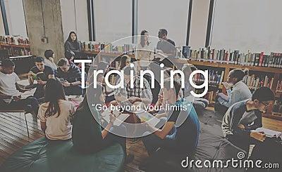 Training Mentoring Skills Ability Studying Development Concept Stock Photo