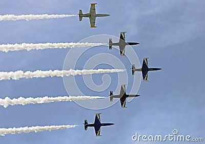 Training planes L-39