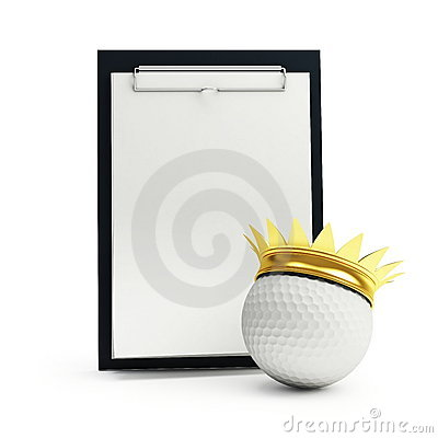 Training schedule golf machine gear