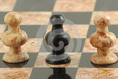 The traitor pawn in chess