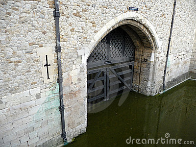 Traitors Gate Tower Of London 5