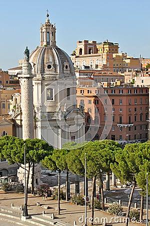 Free Trajan Column In Rome Royalty Free Stock Images - 19962189