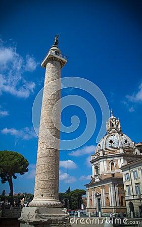 Trajan forum, Rome.