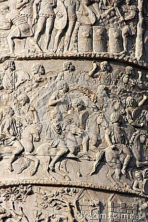 Trajan s column in Rome