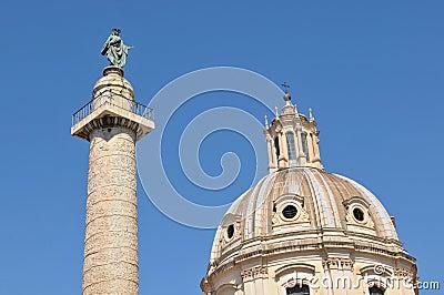 Trajan s Column in Rome, Italy