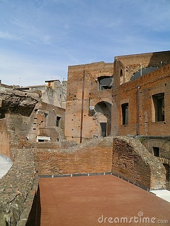 Trajan s forum and market in Rome