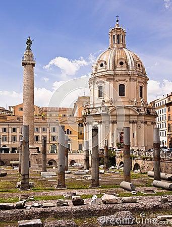 Trajan s Forum Rome Italy