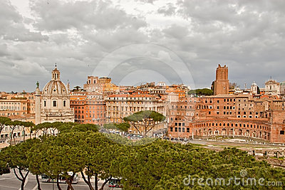 Trajan s Forum and Trajan s Column in Rome