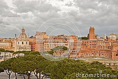 Trajan s Forum and Trajan s Column in Rome