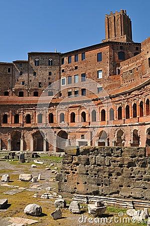 Trajan s Market in Rome, Italy