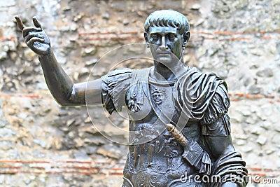 Trajan Statue