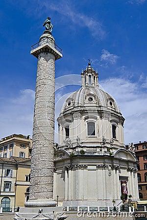 Trajans Column in Rome