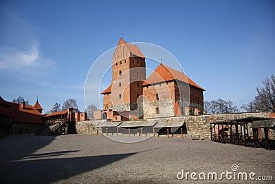 Trakai medieval castle (Lithuania)