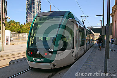 Tram Editorial Photography