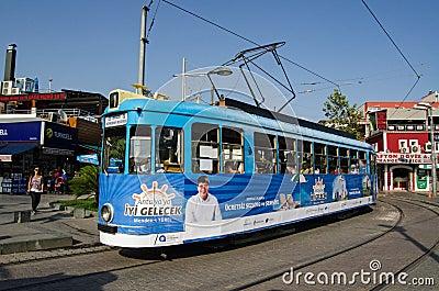 Tram in Antalya, Turkey Editorial Stock Image
