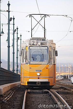 Tram in Hungary