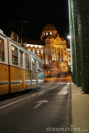 Free Tram In Budapest Royalty Free Stock Photography - 13427817