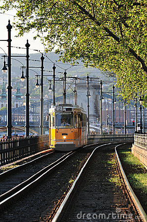 Free Tram Is Coming Stock Image - 9076991