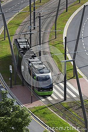 Tram System - Bilbao - Spain Editorial Image