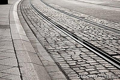 Tram Track Curve
