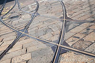 Tram tracks - Tramway Milan