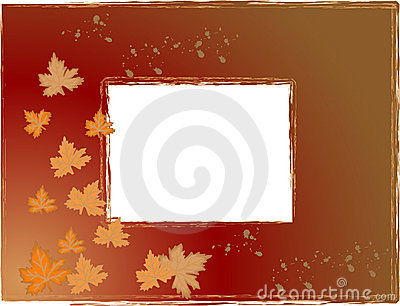 Trame de photo d automne