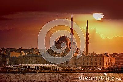 Tramonto di Costantinopoli