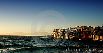 Tramonto di Mykonos
