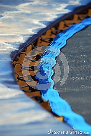 Trampoline edge