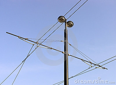 Tramway overhead cables