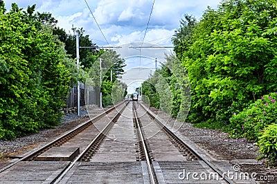 Tramway railway