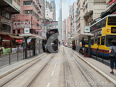 Tramways Editorial Stock Photo