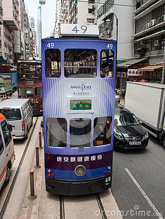 Tramways Editorial Stock Image