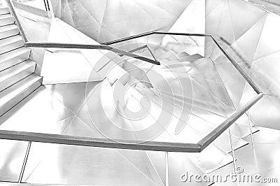 Trange shape stairways