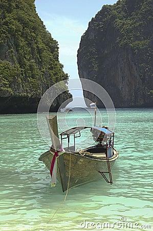 Tranquil beach thailand