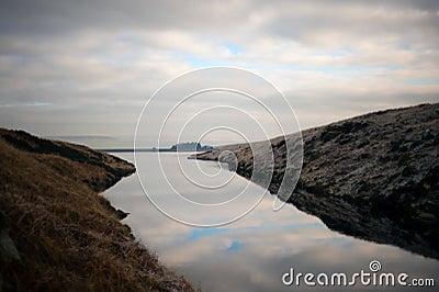Tranquil an calm lake