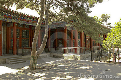 Tranquil Garden at the Summer Palace Beijing