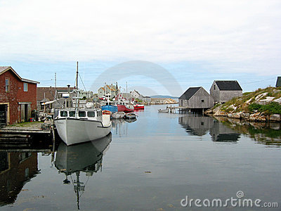 A Tranquil Harbour Royalty Free Stock Photo - Image: 229375