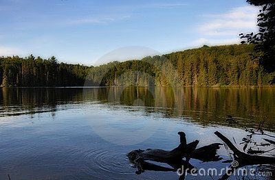 Tranquil Lake. Royalty Free Stock Photography - Image: 15315907