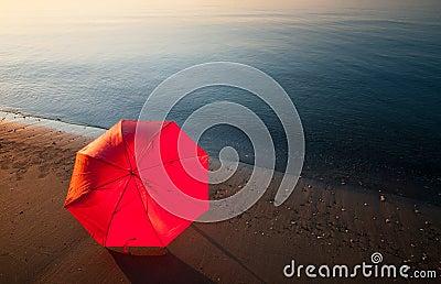 Tranquil morning seashore