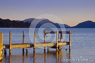 Tranquil Morning at Lake George